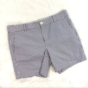 Banana Republic Pinstripe Shorts, Size 12